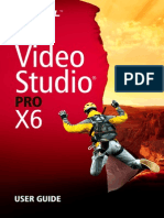 Corel's Video Studio X6 User Guide