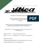 Revista Critica Nro 1