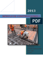Modulo de Construcciones i -Iu