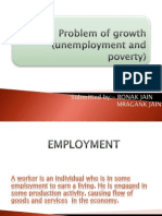 Problem of Growth