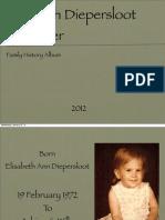 Lisa Family History Draft