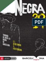 Programa BCNEGRA 2014 (castellano)