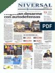 Gcpress Portadas Medios Mexicanos Juev 16 Ene 2014