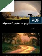 10 Porunci Pentru Un Profan