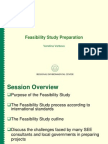 Water 3.1 Feasibility Study Preparation