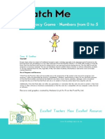 Match Me Printable Math Game Bonus Display Cards Worksheet[1]