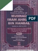 Musnad imam Ahmad Volume 3
