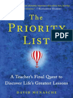 The Priority List by David Menasche - Tattoo Excerpt