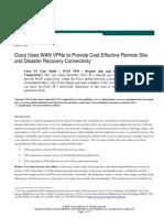 Cisco It Wan VPN Case Study