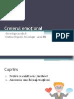 Creierul emoțional