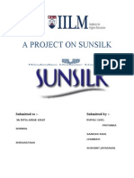 Project on Sunsilk