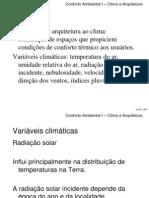 Clima e Arquitetura