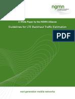 Guideline for LTE Backhaul Traffic Estimation