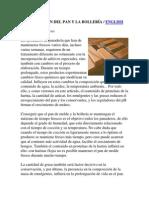 CONSERVACIÓN DEL PAN MOLDE