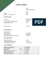 Araq AMB Estimate of Street Pavement & Drainage