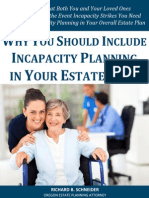 Why You Should Include Incapacity Planning in Your Estate Plan