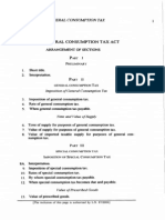 The General Consumption Tax Act