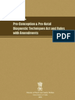 Handbook on PNDT Act