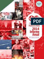 Informe Anual de la Política China 2014