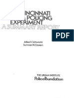 Schwartz, A. I., Et. Al. - The Cincinnati Team Policing Experiment