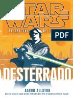 730 - El Destino de Los Jedi 01 - Desterrado