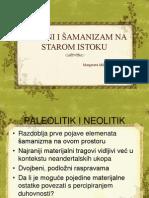 šamanizam paleolitik neolitik