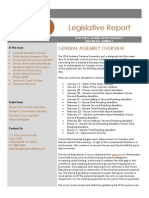 Indiana Legislative Update # 1