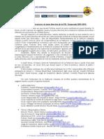 Comunicacio nova estructura Junta 2009-10