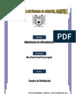 Administración de la mercadotecnia- Canalies de Distribución