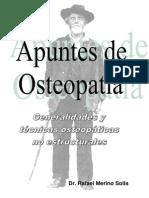 0.Generalidades y técnicas osteopáticas