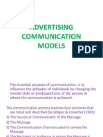 Advertising Communication Models