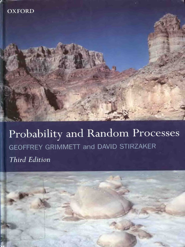 Probability And Random Processes Ebook