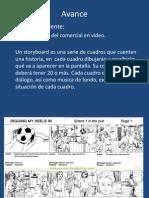 Medios de publicidad-Storyboard y Guión de Radio