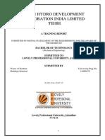 Tehri Hydro Development Corporation India Limited