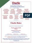 North Shore Kickoff Reception for Charlie Baker