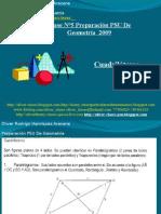 Presentación N°5 PSU De  Geometría - Cuadrilateros