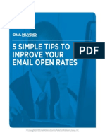 5 Simple Tips to Improve Your Email Open Rates
