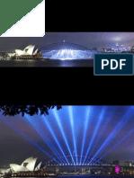 Sydney Bridge Lights