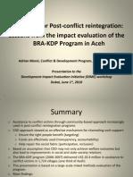Morel-2010-Using CDD for Post-Conflict Reintegration ~ BRA-KDP Program in Aceh