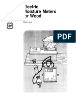 Wood Moisture Impedance