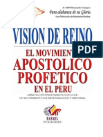 Bernardo Campos Vision de Reino El Movimiento Apostolico y Profetico en Peru
