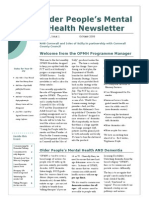 Cornwall's Older People's Mental Health Newsletter October 2008