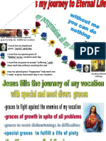 MY VOCATION IS MY JOURNEY TO ETERNAL LIFE