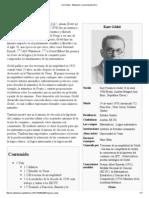 Kurt Gödel - Wikipedia, la enciclopedia libre