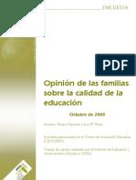 Opinion Familias Calidad Educacion Marchesi