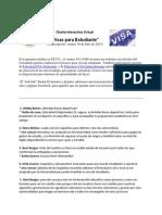 Visas Para Estudiante 20130719