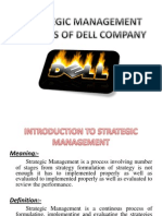 Strategic Management Process of Dell Company Ppt