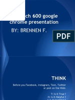brennen tech 600 notebook using google chrome