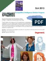 2013 SLA Conference San Diego CA