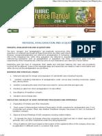 M & a - ICAI Checklist